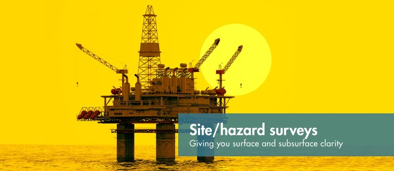 H Site hazard surveys